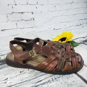 Earth Spirit Woven Leather Sandal Ginsing 10